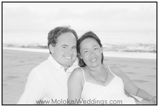 Kevin and Kiku Donnelly - Molokai's premier wedding planners